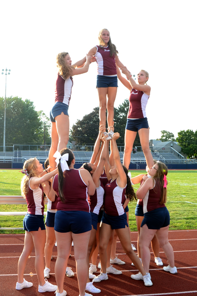 Cheer in action!