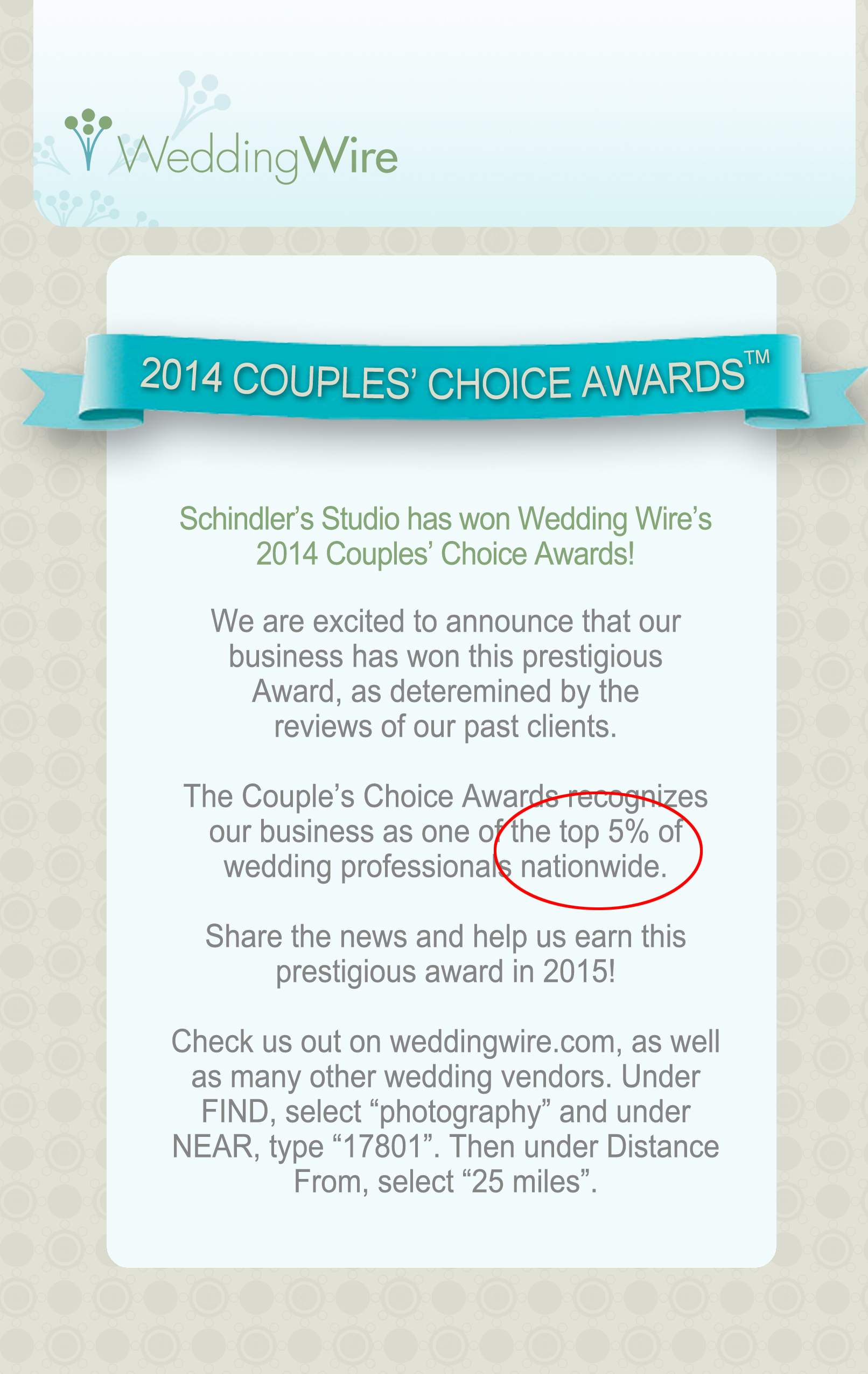 2014WeddingWireAward